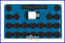 Laser Tools Master Wheel Nut Locking Key Set Audi 22 Pieces 6232