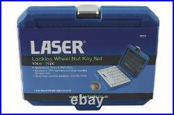 Locking Wheel Nut Key Set 20Pc Volvo Laser 7077