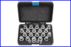 Locking Wheel Nut Key Set 20pc Volkswagen/porsche Laser Tools 6662