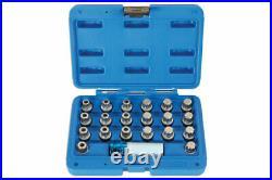 Locking Wheel Nut Key Set 21pc Suits BMW Laser 6276 New