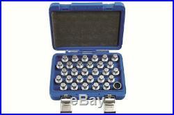 Locking Wheel Nut Key Set Mercedes Benz 30Pc Laser 6767