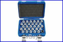 - Locking Wheel Nut Key Set Mercedes Benz 30pc 6767 by Laser