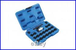 Locking Wheel Nut Key Set Suitable for VW UP Polo 2010 Golf 2009 Jetta 2011