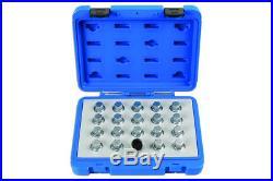 Locking Wheel Nut Key Set Vauxhall & Opel 20pc Laser Tools
