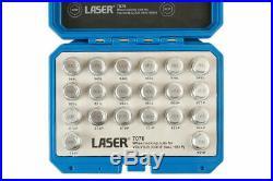 Locking Wheel Nut Key Socket Tool Set FOR VOLVO B 944L 945L 946L 947L 948L 949L