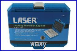 Locking Wheel Nut Key Socket Tool Set FOR VOLVO B 950L 951L 952L 953L 065P 071P
