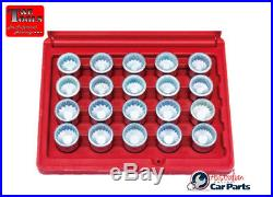 Locking Wheel Nut Key Tool 20 Piece Set For VW Audi & Porsche T&E Tools T65069