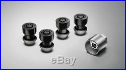 Locking Wheel Nut Kit Gloss Black