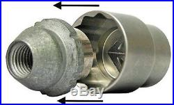 Locking Wheel Nut Remover Tool Lost Broken Ford Fiesta B-max Focus C-max 88