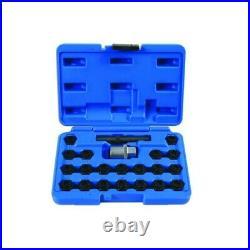 Locking Wheel Nut Set Bmw 22pc 6539 Laser Genuine Top Quality Product New