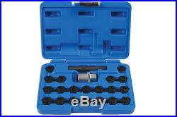 Locking Wheel Nut Set Bmw 22pc Laser Tools 6539