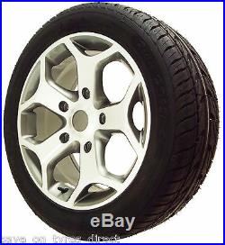 Locks + Nuts Included ST Alloy Wheels Tyres High Load Ford Transit Custom 18
