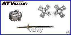 Lonestar LSR Axcalibar Axle + Rear Wheel Hubs + Lock Nut Honda TRX250R TRX 250R