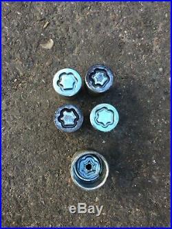 MITSUBISHI L200 2.5 DI-D Locking Wheel Nuts Kit 2009