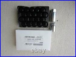 MUGEN Honda Civic FK8 Type-R Wheel Nut & Lock Nut Set Black 5H 08181-XG8-K1S0-BL
