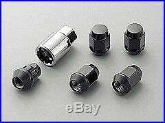 MUGEN WHEEL NUT & LOCK SET 5H For INTEGRA TYPE R DC2 08181-MZ3-K0S0-BL