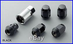 MUGEN Wheel Nut & Lock Set BLACK For Accord CR6 CR7 08181-MZ3-K0S0-BL