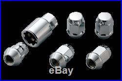 MUGEN Wheel Nut Lock Set Silver For CIVIC FK7 08181-MZ3-K0S0-S