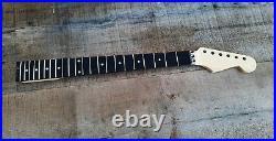 Maple Guitar Neck Chrome Floyd Locking Nut Truss Wheel Ss Frets Rosewood Neck