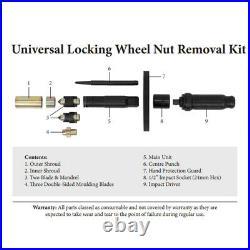 Master Universal Locking Wheel Nut Remover Welzh Werkzeug