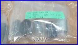 McGard 84557SUB Mk3 Focus RS Black Locking / Wheel Nuts, Full Kit= 20 Nuts total