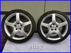 Mercedes AMG Alloy Wheels And Locking Nuts