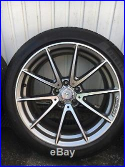 Mercedes C63 AMG Alloy Wheels Set Of 4 With Bolts & Locking Wheel Nuts