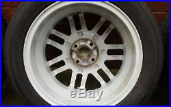 Mg Zr Rover 25 16 Gridspoke Alloy Wheels X 4 With Tyres And Locking Wheel Nuts