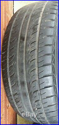 Mg Zr Trophy 16 Gridspoke Alloy Wheels X 4 With Tyres And Locking Wheel Nuts