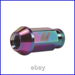 Mishimoto Aluminium Locking Wheel / Lug Nut Set M12 x 1.25 Neo Chrome