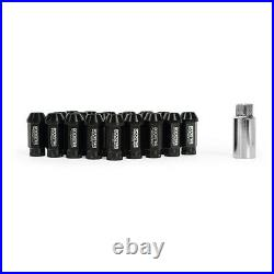 Mishimoto Rockstar Aluminium Locking Wheel Nuts, M12 x 1.5, Black