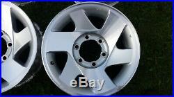 Mitsibushi L200 5 x Alloy Wheels & Locking Nuts