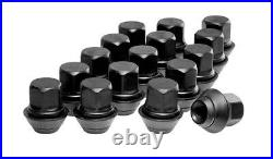 Mk3 Focus RS Upgraded Black Wheel Nuts Full Set with Locking Nuts & Covers