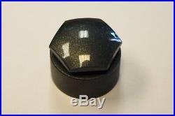 NEW GENUINE AUDI A1 Q3 Q5 A7 A8 TT 17mm WHEEL NUT BOLT COVERS LOCKING CAPS ROUND