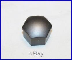 NEW GENUINE AUDI A2 A3 A4 A5 A6 A7 Q5 17mm WHEEL NUT BOLT LOCKING COVERS CAPS
