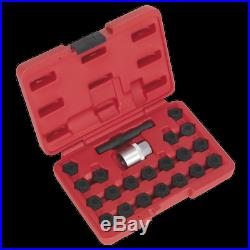 NEW Locking Wheel Nut Key Set 22pc-BMW-SX207 UK