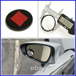 NRG T210 SIlver Open End M12x1.25 Titanium Wheel Lock Lug Nuts+Blind Spot Mirror