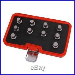 Neilsen 10pc VAG Master Locking Wheel Nut Socket Spline Set CT3986