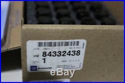New GM Wheel Black Lug Nut Lock Kit 84332438 17-19 Silverado Sierra Tahoe Yukon
