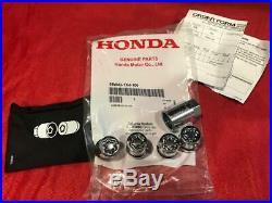 New Genuine Honda Odyssey Pilot Oem Wheel Lock Set Mcgard 08w42-tk4-100 046136