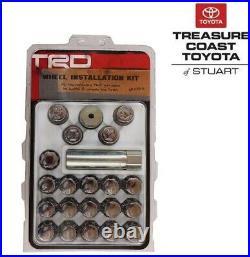 New Oem Toyota Trd 14mm Conical Spline Drive Wheel Lock Set & Lugs Nuts