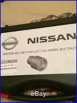 Nissan Locking Wheel Nut Kit Complete Master Set