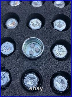 OEM Saab Main Dealer Master 3 Pin Locking Wheel Nut Key Set Vauxhall Gm