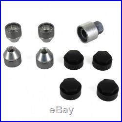 ORIGINAL GM Opel Wheel Nuts Secure Wheel Nut Set Rim Lock M12 x 1.5 13331034 New