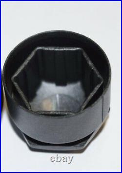 PEUGEOT 108 208 308 2008 3008 5008 17mm WHEEL NUT COVERS LOCKING CAPS BLACK