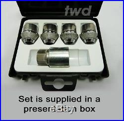 PREMIUM QUALITY ALLOY WHEEL LOCKING NUTS FOR FORD FOCUS SECURITY LUG BOLTS N0e