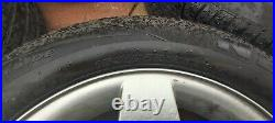 Peugeot alloy 15 inch wheels with good tyres. Wheel bolts and locking nuts