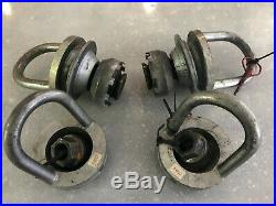 Porsche 997 Cup Center Lock Wheel Assembly, Tow Hooks, Pressure Disc, Nuts