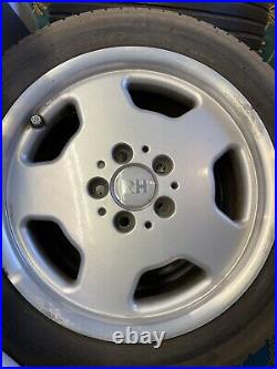 RH alloy wheels 16 VW Mercedes RARE Topline Inc Tyres, Spacers And Locking Nuts