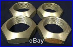 Rare Set Of 4 Porsche 908 Center Lock Knockoff Racing Wheel Nuts Beautiful